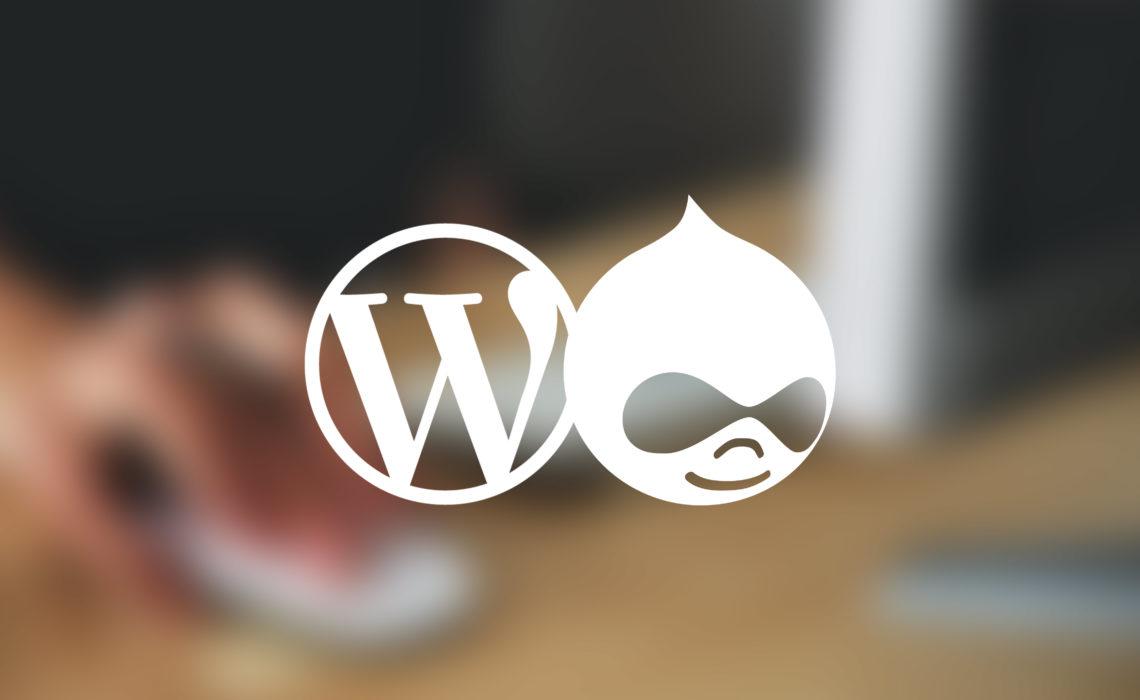 🏆 WordPress VS Drupal : le match des CMS Open Source !