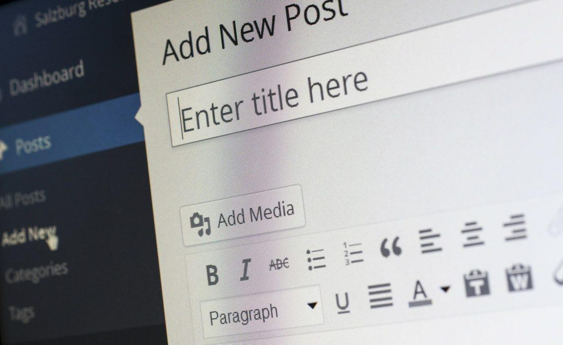 Retour d'expérience WordPress 5.0 et son éditeur Gutenberg.